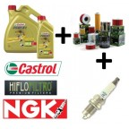 CASTROL+HIFLO+NGK