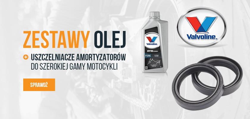 Zestawy olej + uszczelniacze amortyzatorów